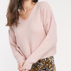 Blush Pink knit sweater